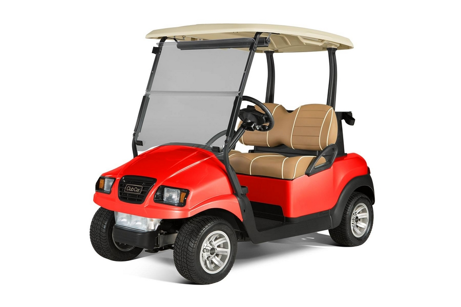 club car 2-passenger Red Juaunt PTV