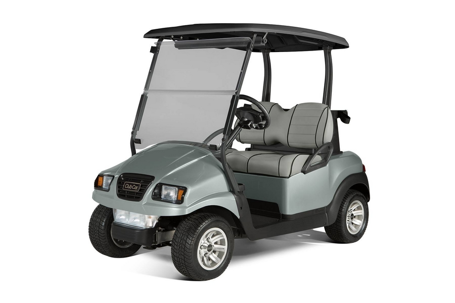 club car 2-passenger silver metallic Jaunt PTV