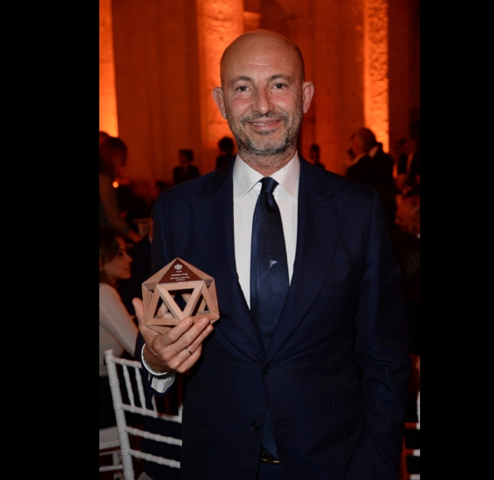 corrado del fanti from evo yachts - altagamma emerging luxury brand awars 2016 winner