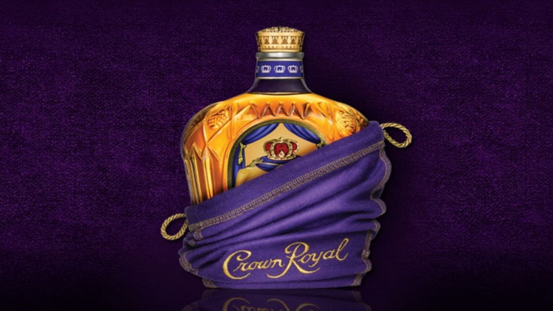 crown royal bottle