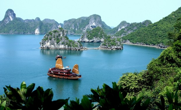 cruising vietnam coast