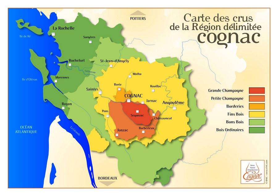 crus cognac