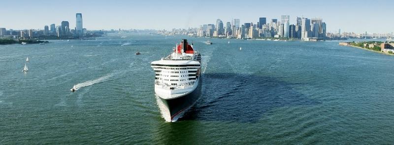 cunard cruises aerial