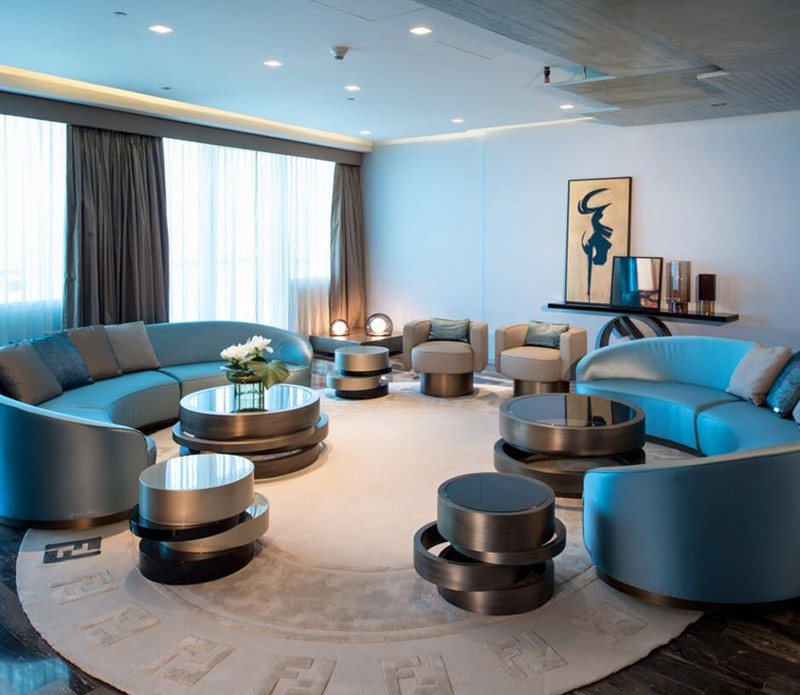 damac - Overlooking the Palm Jumeirah, DAMAC Residenze is fitted out with furnishings by Fendi Casa