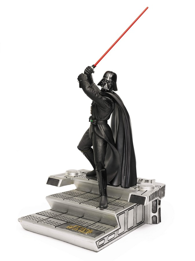 darth-vader-cinemacast-statue-1994-The First Auction of Star Wars Collectibles at Sothebys