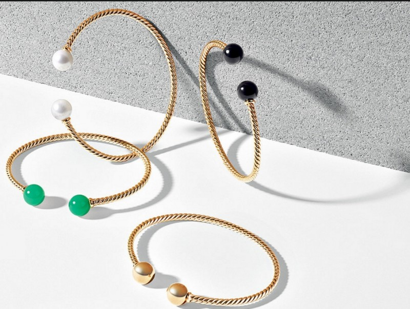 david yurman solari bracelets with artistic bend