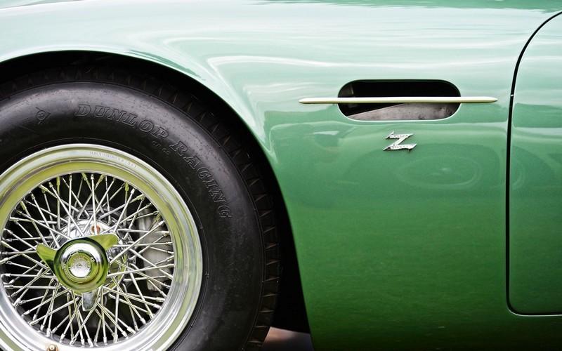 detail from the Aston Martin DB4GT Zagato
