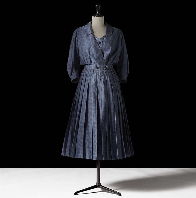 dior dresses christian dior museum-Collection Printemps-Eté 1954 ligne Muguet