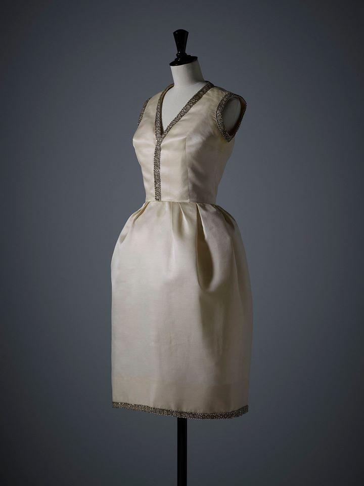 dior dresses christian dior museum-Ensemble du soir Diorissimo porté par Elizabeth Taylor