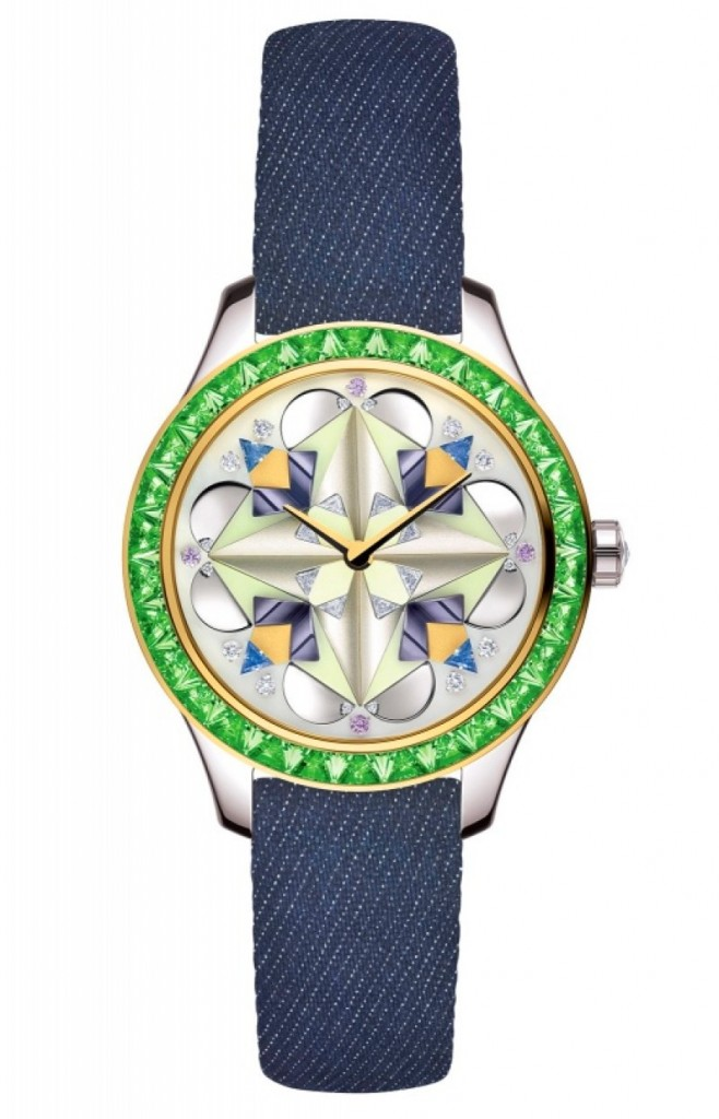 dior watches baselworld 2016-tsavorites