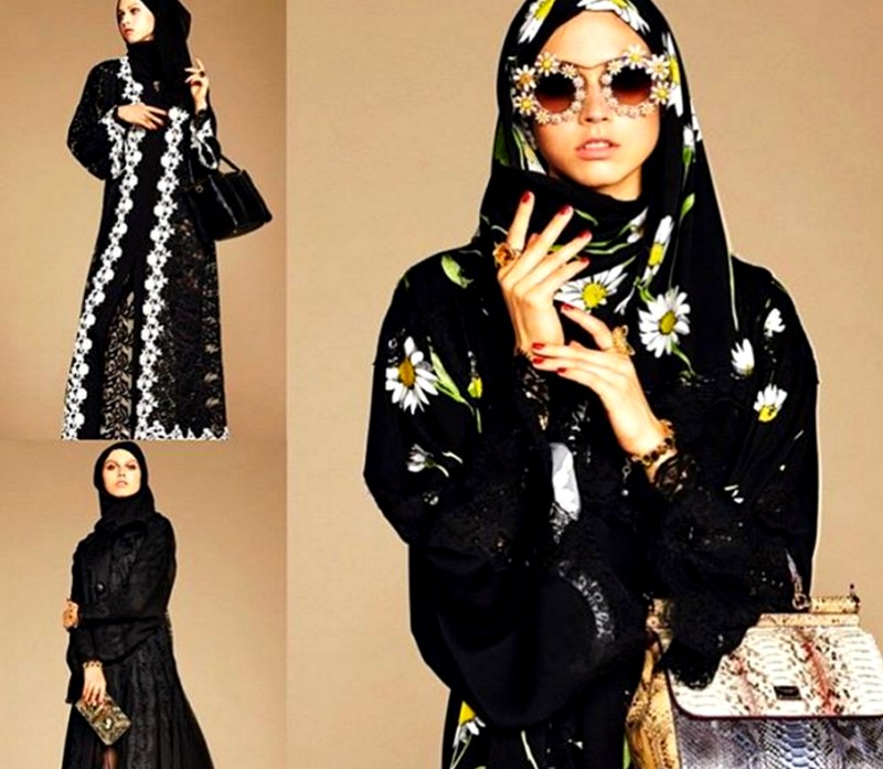 dolce and gabbana hijab abaya collections-