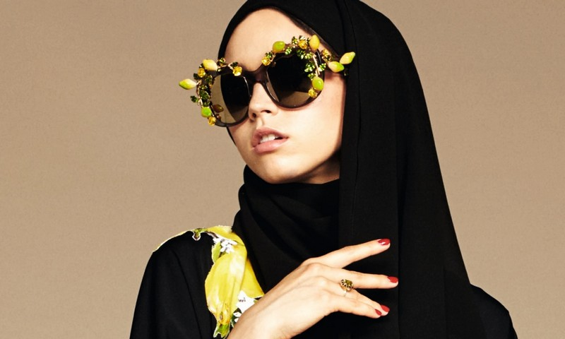dolce and gabbana hijab abaya collections