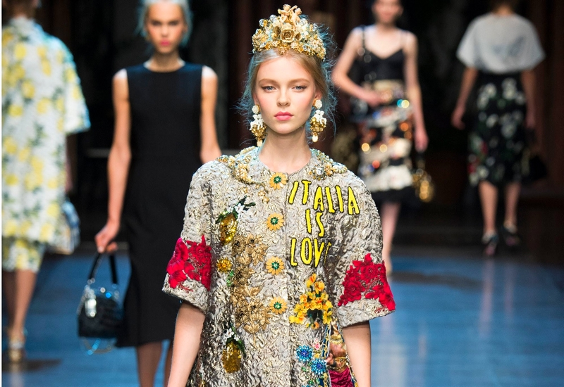 dolce & gabbana 2016 SS ready-to-wear