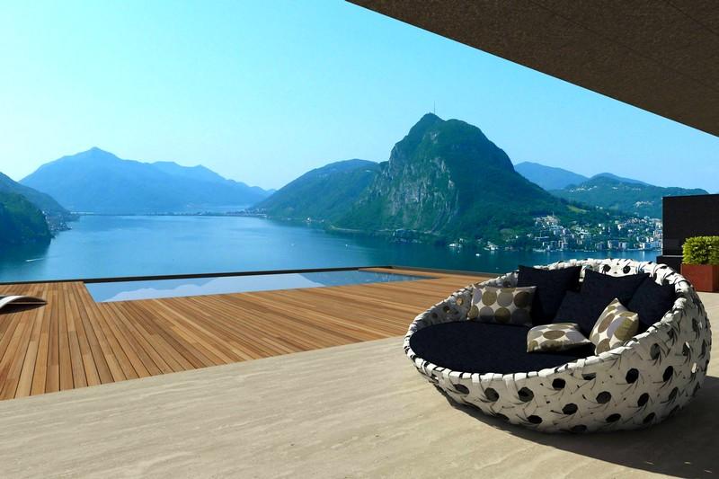domus solis lake lugano Lake Lugano, Ticino, Switzerland
