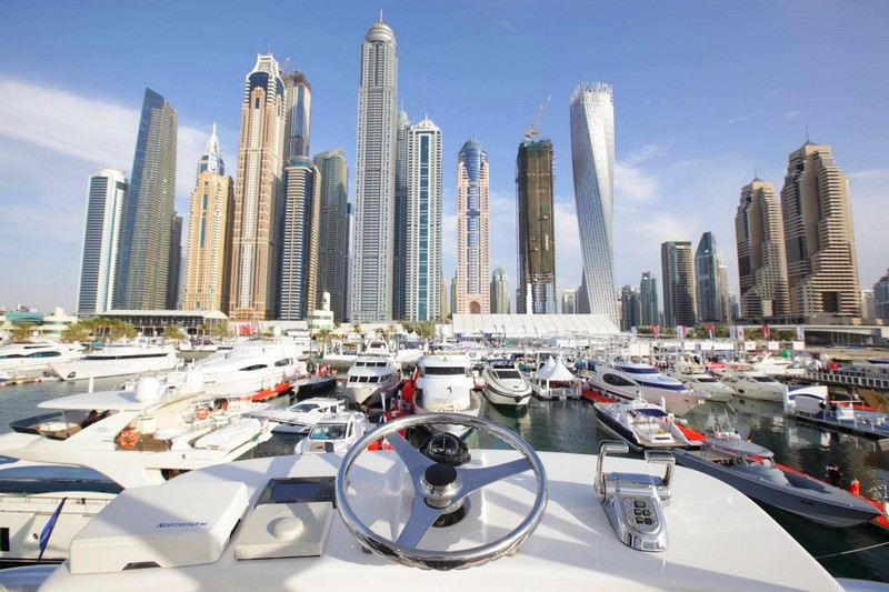 dubai international boat show- maritime sector in UAE