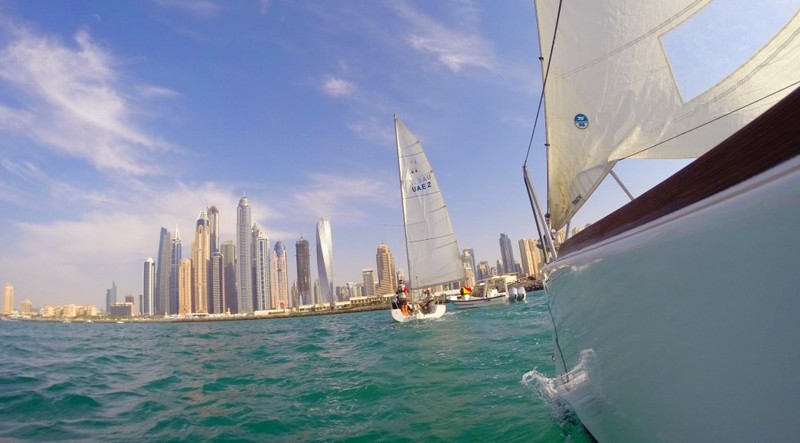 dubai international boat show panorama