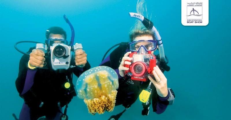 dubai international boat show - underwater photography contest