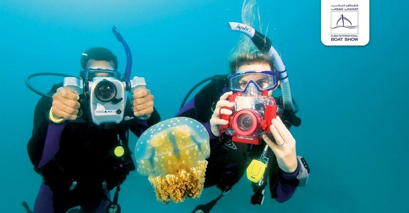 dubai international boat show - underwater photography contest