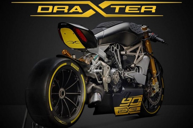 2016 Motor Bike Expo of Verona: all-new draXter concept bike pays homage to Ducati's 90th anniversary