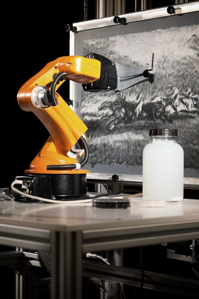 e-david art robot