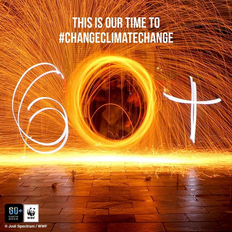 earth hour 2016-this our time to change climate change
