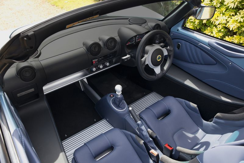 elise250specialedition by lotus 2016 model-interior