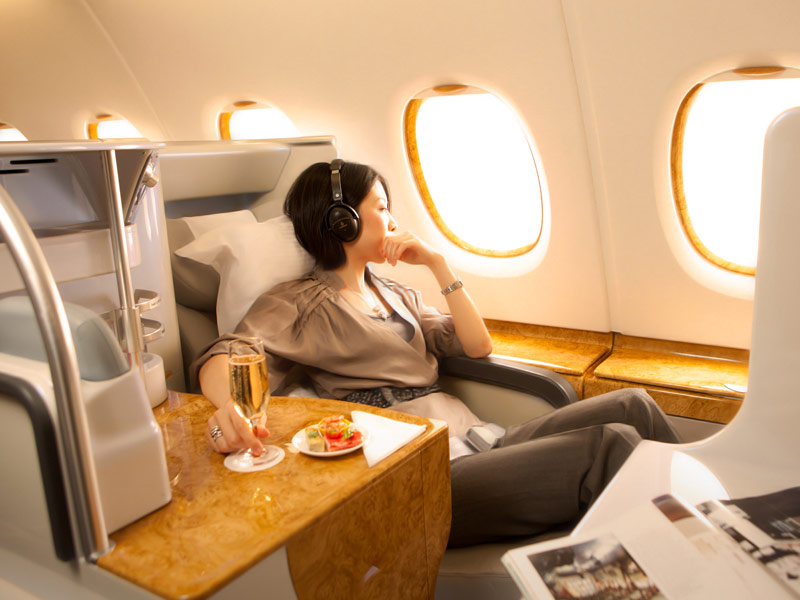 emirates - first cabin features
