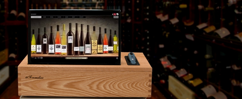 esommelier - wine cellar wine management project-