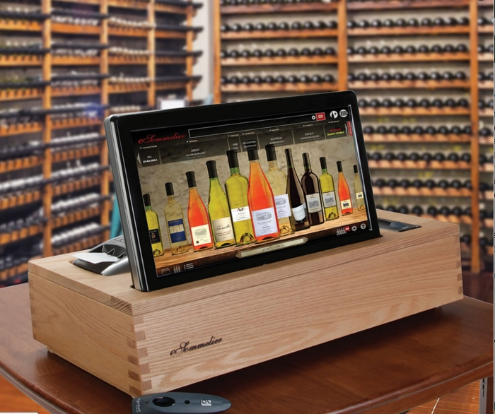 esommelier - wine cellar wine management project