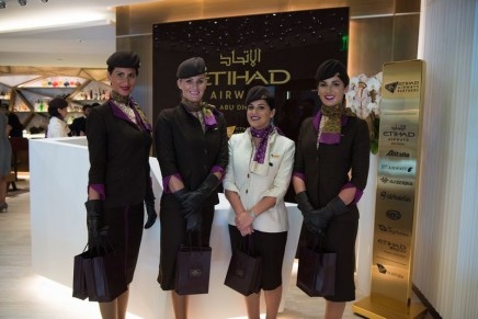 Etihad First & Business Class Lounge Los Angeles Grand Opening