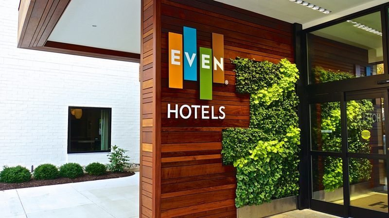 even hotels
