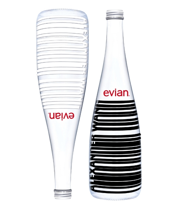 evian alexander  wang bottle
