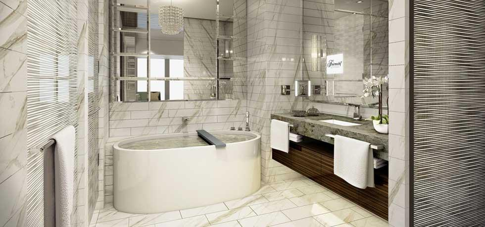 Farimont nanjing luxury hotel bathrooms2luxury2 com for Best hotel bathrooms