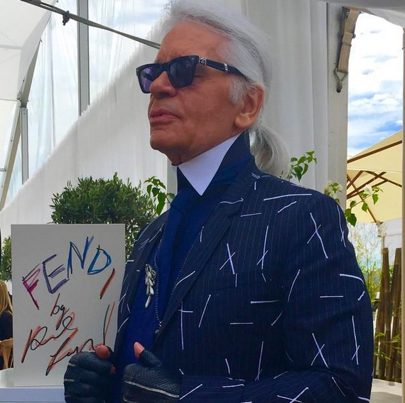 fendi by karl lagerfeld book launch in cannes 2015