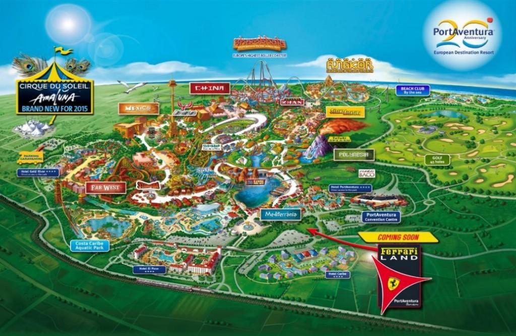 ferrari-amusement-park-portaventura- map