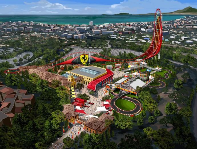 ferrari-amusement-park-portaventura- renderings