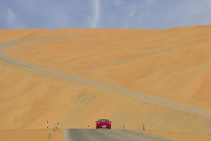 Ferrari Deserto Rosso pays tribute to the majestic beauty of the desert