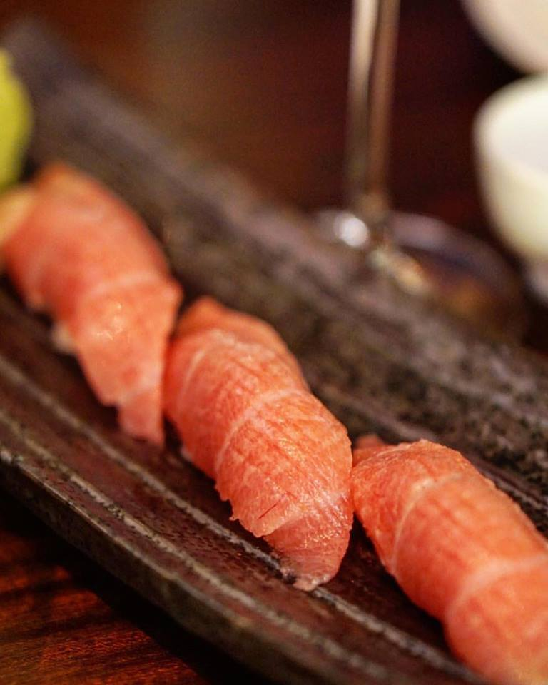 first Matsuhisa restaurant in France opened at Le Royal Monceau palace-sushis
