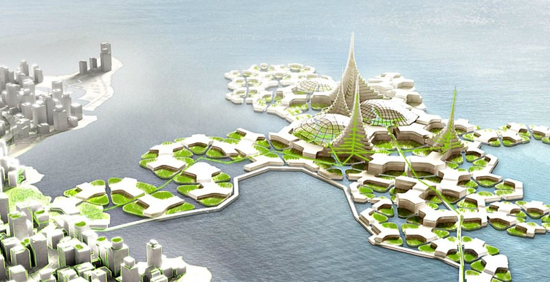 floating eco-system