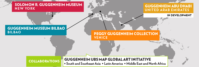 foundation-peggy guggenheim map