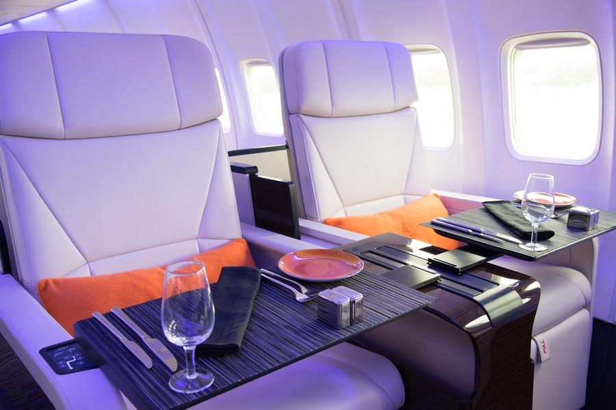 four seasons private jet interior-