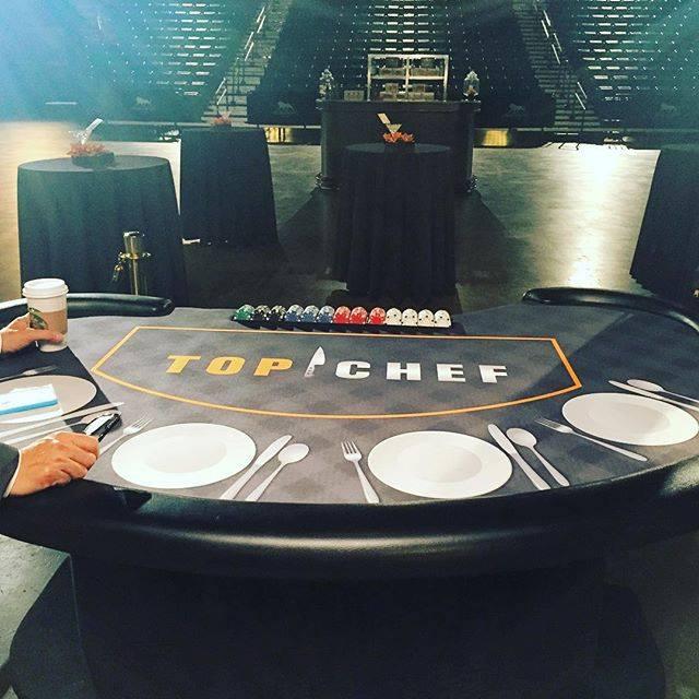 gail simmons- Custom Top Chef Blackjack table