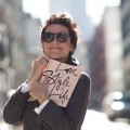 garance dore with her book