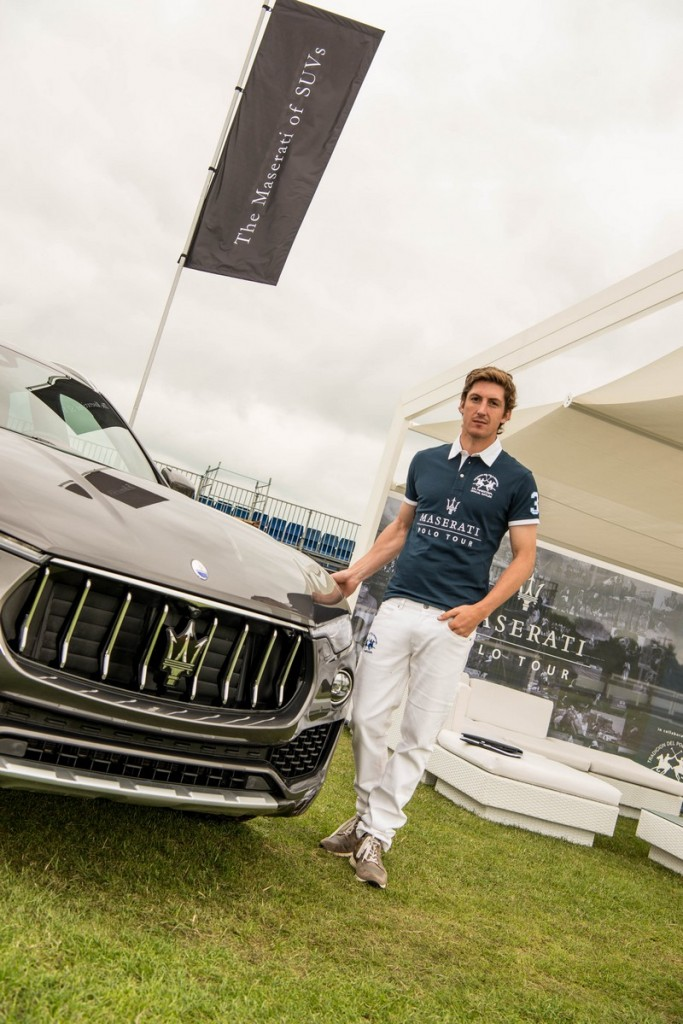 george-meyrick-with-the-maserati-levante-Maserati Royal Charity Polo Trophy