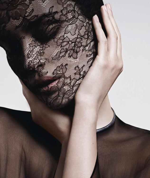 givenchy lace mask