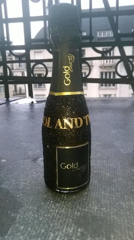 gold energy drink Metropole Monaco.