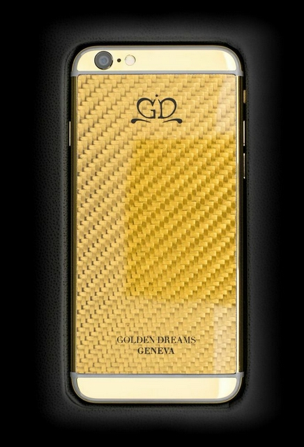 golden dreams luxury iphone6 - Carbon Gold-