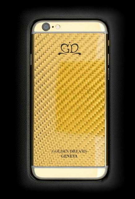 golden dreams luxury iphone6 - Carbon Gold-