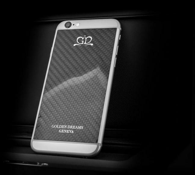 golden dreams luxury iphone6 Carbon