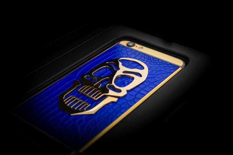 golden dreams luxury iphone6 -Masterpieces Skull Edition-